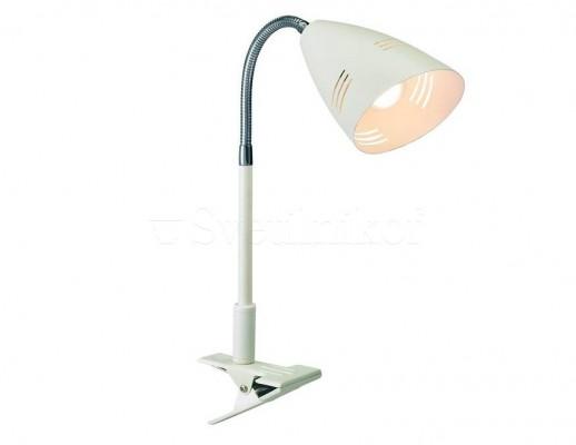 Настольная лампа-прищепка MARKSLOJD VEJLE White 197912