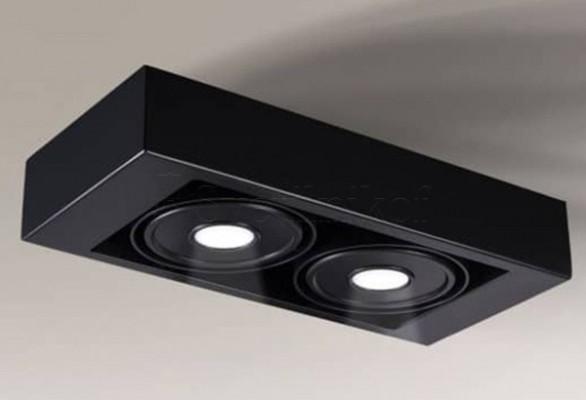 Точечный светильник KOGA IL 2 LED 4000K BK Shilo 8430