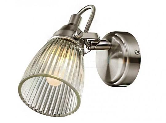 Настенный светильник для ванной комнаты MARKSLOJD LADA 1L Steel 104864