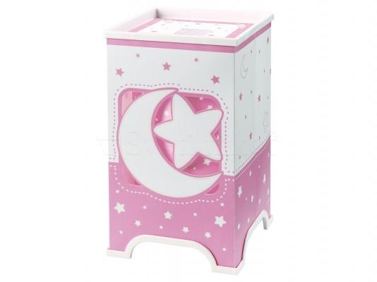 Детская настольная лампа Dalber Moon Pink 63230S