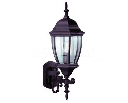 Настенный светильник уличный MARKSLOJD LOTTA Black 100330