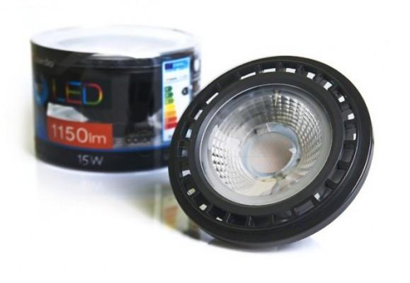 Лампа AZZARDO BK LED 15W ES111 GU10 DIM 3000K LL110151