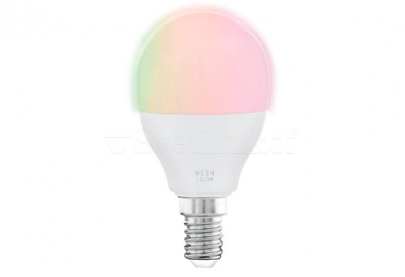 Лампа E14-LED-P45 5W 2700-6500K+RGB Eglo 11857