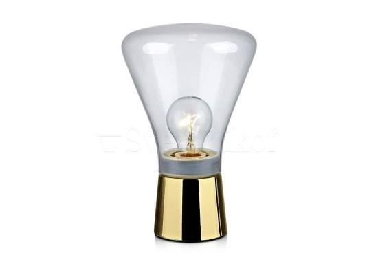 Настольная лампа MARKSLOJD JACK brass 106798