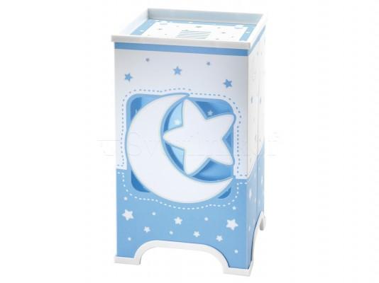 Дитяча ністільна лампа Dalber Moon Blue 63230T