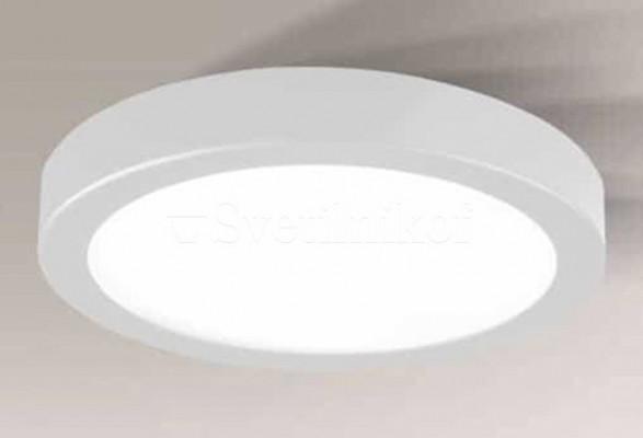 Плафон ITO LED 4000K R WH Shilo 8443