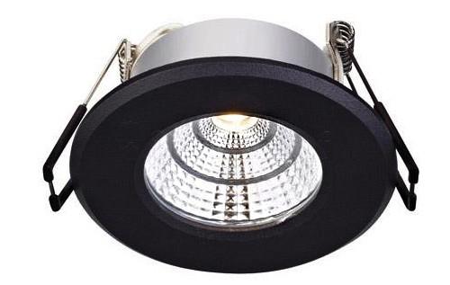 Точковий світильник MARKSLOJD HADES Black 106219