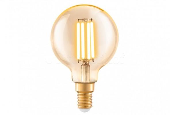 Лампа E14-LED-G60 4W 2200K Eglo 11782