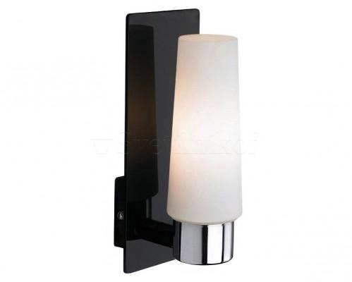 Настенный светильник для ванной комнаты MARKSLOJD  MANSTAD 1L Black 105636