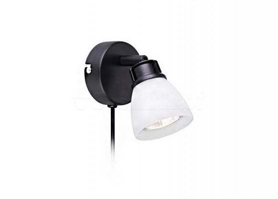Настінний світильник MARKSLOJD AON 1l black 106417