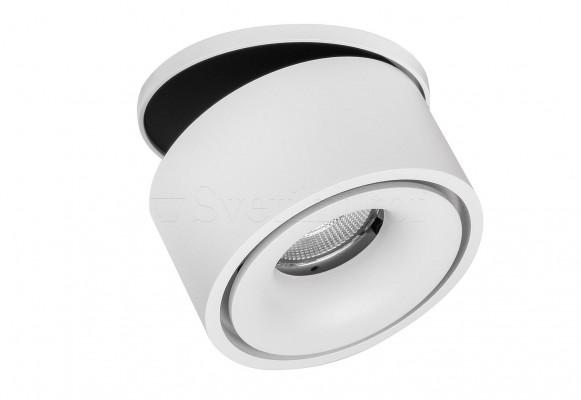 Точечный светильник UNIVERSAL RD G2-14W WH&BK ZARLIGHT 03340W/B