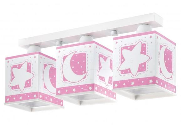Детский светильник Dalber Moon Pink 63233S