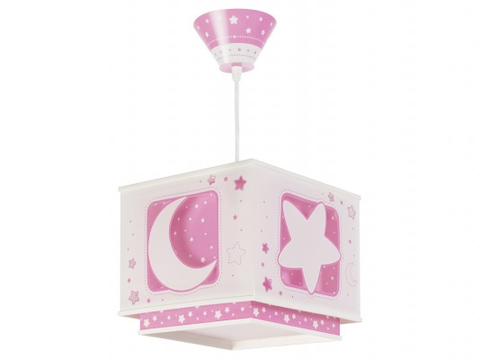Дитячий світильник Dalber Moon Pink 63232S