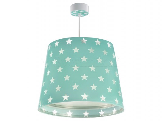 Дитячий світильник Dalber Green Stars 81212H