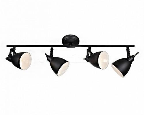 Потолочный светильник MARKSLOJD FJALLBACKA 4L Black 105816