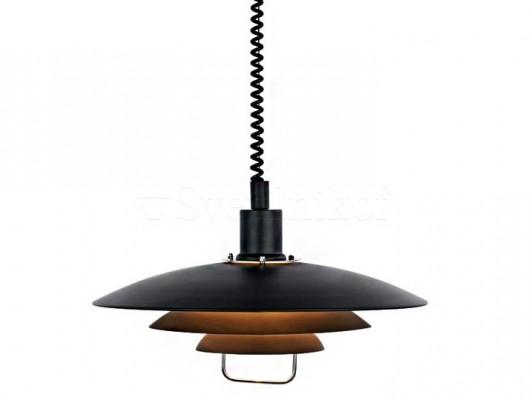 Подвесной светильник MARKSLOJD KIRKENES Black 104540