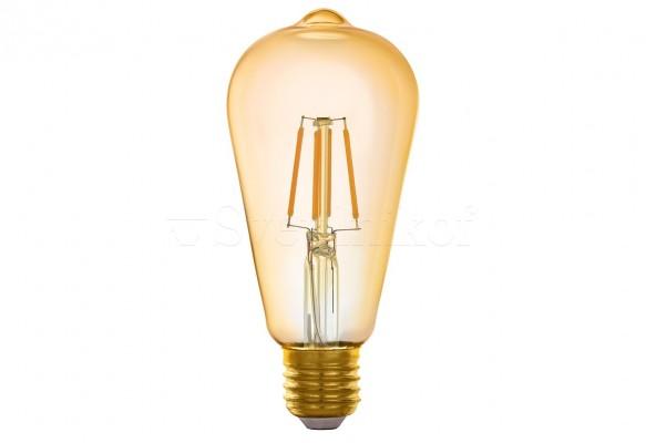 Лампа E27-LED-ST64 5,5W 2200K Eglo 11865