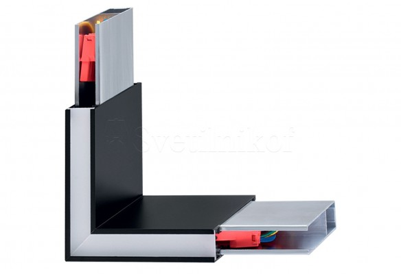 Светодиодный модуль (угол) LINUS 3000K BK Ideal Lux 242002