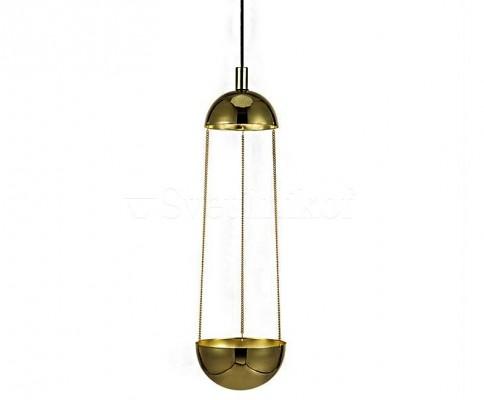 Подвесной светильник-кашпо MARKSLOJD GROW Gold 106656