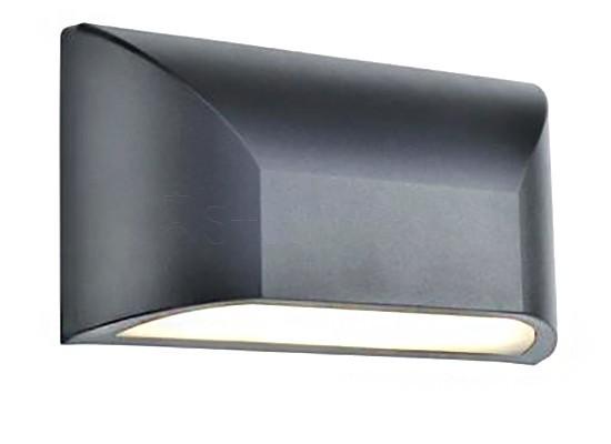 Настінний світильник вуличний MARKSLOJD NIKOS Grey 106510