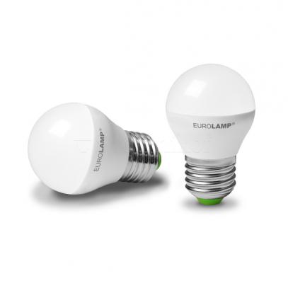 Лампа EUROLAMP LED ЕКО G45 5W E27 3000K