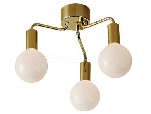 Подвесной светильник MARKSLOJD HISTORY 3L Brass 105774
