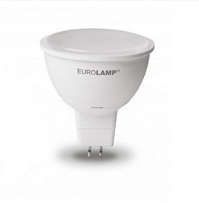 Лампа EUROLAMP LED ЕКО SMD MR16 7W GU5.3 3000K